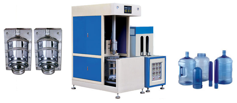 Полуавтомат выдува ПЭТ HZ 90 (19 литров)